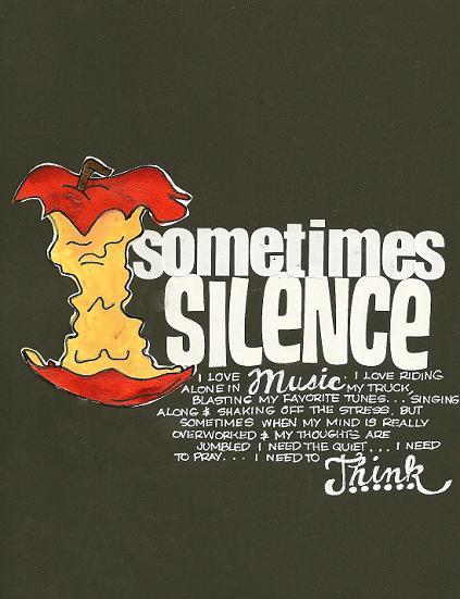 Sometime SILENCE